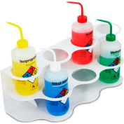 TrippNT™ 51826 White ABS 7-Hole Two Story Bottle Holder