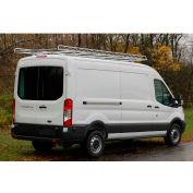 """10' Van Rack W/ 60"""" Crossbars - '15 & Up Ford Transit Van 130WB - Med/Low Roof - 458120"""