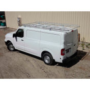 """12' Van Rack W/ 58"""" Crossbars - Nissan NV Low Roof Van - 458500"""