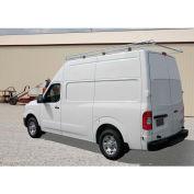 """10' Van Rack W/ 58"""" Crossbars - Nissan NV High Roof Van - 458510"""