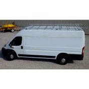 """10' Van Rack W/ 60"""" Crossbars - ProMaster Van 118WB - 460118"""