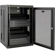 Tripp Lite 32-Device AC Charging Station Cabinet for iPad and Android Tablets, Black