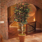 OfficeScapesDirect 7' Trim Capensia Silk Tree