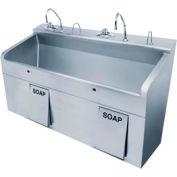 Sloan ESS-3200-H-BDT Scrub Sink