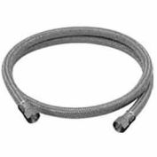 Brasscraft B1-36DWF Dishwasher Hose 3/8 In. Compression X 3/8 In. Compression X 36 In. - SS
