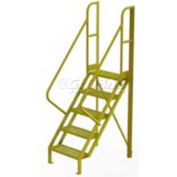 "5 Step 50° Incline Ladder - 24""W Grip Strut"