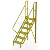"6 Step 50° Incline Ladder - 24""W Perforated"