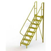 "8 Step 50° Incline Ladder - 24""W Grip Strut"