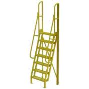 "7 Step 75° Incline Ladder - 24""W Grip Strut"