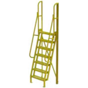 """7 Step 75° Incline Ladder - 24""""W Perforated"""