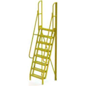 """8 Step 75° Incline Ladder - 24""""W Perforated"""