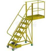 """Unsupported 7 Step 30"""" Cantilever Ladder - Grip Strut"""
