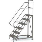 6 Step Configurable Forward Descent Rolling Ladder - Grip Strut Tread UKDEC106242