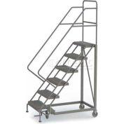 6 Step Configurable Forward Descent Rolling Ladder - Perforated Tread UKDEC106246