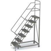 7 Step Configurable Forward Descent Rolling Ladder - Grip Strut Tread UKDEC107242