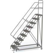 9 Step Configurable Forward Descent Rolling Ladder - Grip Strut Tread UKDEC109242