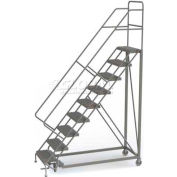 9 Step Configurable Forward Descent Rolling Ladder - Perforated Tread UKDEC109246