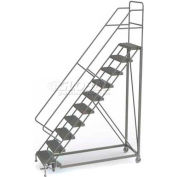 10 Step Configurable Forward Descent Rolling Ladder - Perforated Tread UKDEC110246