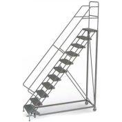 11 Step Configurable Forward Descent Rolling Ladder - Grip Strut Tread UKDEC111242