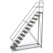 12 Step Configurable Forward Descent Rolling Ladder - Perforated Tread UKDEC112246