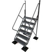 U-Design Rooftop Platforms - 6-Step 50 Degree Incline Ladder - URTL506