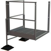 """U-Design Rooftop Platforms - 20""""H Turn Platform For 2-Step Ladders - URTTP20"""