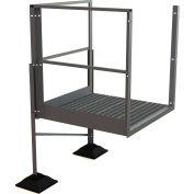 """U-Design Rooftop Platforms - 30""""H Turn Platform For 3-Step Ladders - URTTP30"""