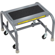 1 Step Mobile Steel Step Stand w/ Solid Anti-Slip Top Step