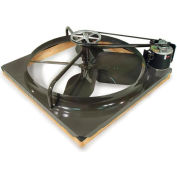 "36"" Comfort Cooler Belt Drive Whole House Fan - 1/3 HP"