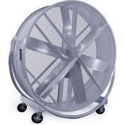 GentleBreeze GB8415SC-W 84 Inch Tilt Blower Fan w/ Speed Control, 1PH, 115 / 230V