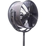 Jetaire® 24 Inch High Velocity Fan, Non-Oscillating, 460V, 3PH, 5600 CFM, 1/2 HP, Gray HV2413-Z