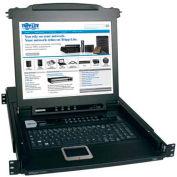 Tripp Lite 16 Port KVM Switch, 17 Inch Console 1U Rackmount