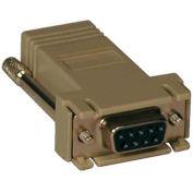 Tripp Lite Modular Serial Adapter Straight-Through Wiring (DB9 F to RJ45 F)
