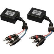 Tripp Lite S-Video + Audio over Cat5 Cat6 Extender Transmitter & Receiver