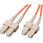 Tripp Lite 100M Duplex Multimode 62.5/125 Fiber Patch Cable SC/SC 328ft