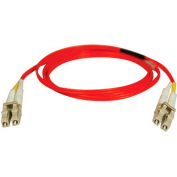 Tripp Lite 15M Duplex Multimode 62.5/125 Fiber Patch Cable LC/LC Red 50ft