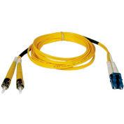 Tripp Lite 3M Duplex Singlemode 8.3/125 Fiber Patch Cable LC/ST 10ft