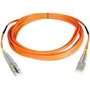 Tripp Lite 50M Duplex Multimode 50/125 Fiber Patch Cable LC/LC 164ft