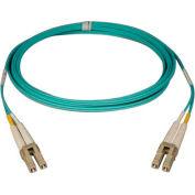 Tripp Lite 1M 10Gb Duplex Multimode 50/125 OM3 Fiber Cable LC/LC Aqua 3ft