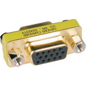 Tripp Lite Compact / Slimline Gold VGA Video Coupler Gender Changer F/F