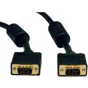 Tripp Lite 50ft SVGA VGA Video Monitor Cable RGB Coax HD15 Male / Male 50'