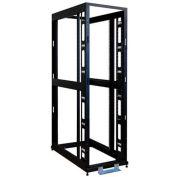 """Tripp Lite 42U 4-Post Open Frame Rack Cabinet 36"""" Depth No Sides, Drs, Roof"""