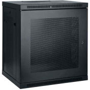 Tripp Lite 12U SmartRack Low-Profile Switch-Depth Wall-Mount Rack Enclosure Cabinet
