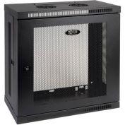 Tripp Lite 12U SmartRack Low-Profile Patch-Depth Wall-Mount Rack Enclosure Cabinet