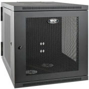 "Tripp Lite 12U Wall Mount Rack Enclosure Cabinet Hinged 33"" Extended Depth"