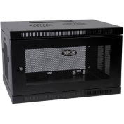 Tripp Lite 6U SmartRack Switch-Depth Wall-Mount Rack Enclosure Cabinet
