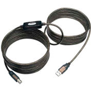 Tripp Lite 25ft USB 2.0 Hi-Speed A/B Active Repeater Cable M/M 25'