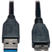 Tripp Lite 3ft USB 3.0 SuperSpeed Device Cable A Male to Micro-B Male Black