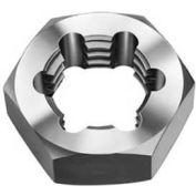 Import Hex Re-Threading Die, Right Hand, 1/4-20, Carbon Steel