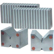 "Import Magnetic V-Block with on/off switch (pair) 2-1/8"" x 2-3/4"" x 2-7/8"""